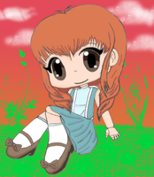 Chibi commission finished by Jigoku-Rui-chan