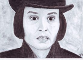 Willy Wonka, the portrait :D by MKoji