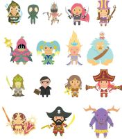 Mini League of Legends by stephahaha