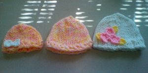 Hand Knit Beanie Request by CreationsbyJolie