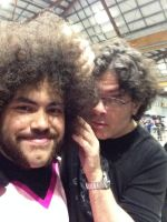Meeting Sean Schemmel at Supanova! by FFiamgoku