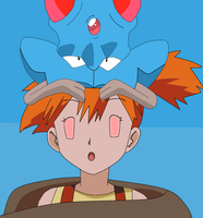 Tentacool/Tentacruel Using Misty As A Puppet - 1 by ControlOfMinds