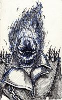 Ghost Rider by manalangmitra