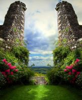 Premade BG The Portal by E-DinaPhotoArt