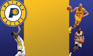 Indiana Pacers Twitter Background by 1madhatter