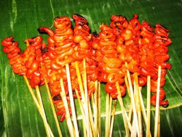 Isaw is Chicken Intestines by chantal86