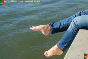 Feet and Water 4 by Footografo
