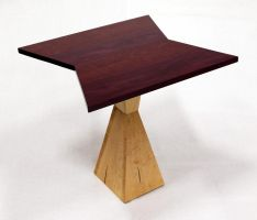 Cadmium Purple End Table by ImrikDragon