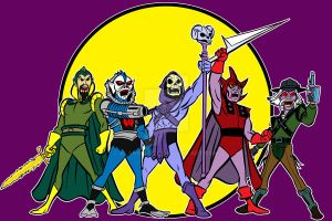 filmation villians by AlanSchell