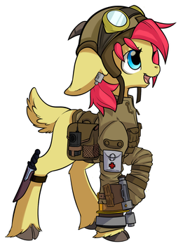 Capran Conscript - 1 by GadgetSteamhoof