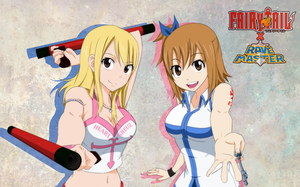Fairytail X Rave - Lucy and Elie by dannex009