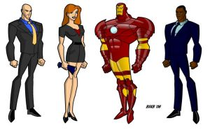 Iron Man Cast by billiebob72088