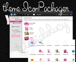 theme iconpackager by tutorialslucy