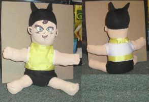 New Baby Trunks Doll Commission-Done by Iziume89