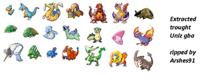 Pokemon Pycron 21 characters by Arshes91