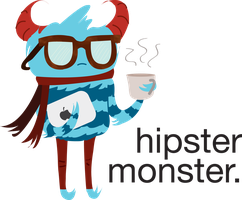 Hipster Monster by Crown-Heart
