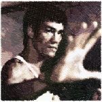 Bruce Lee sketch3 by funkyellowmonkey