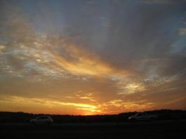 Pearland Sunset by PZCherokee