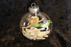 Peter Pan Book Ornament by wetcanvas