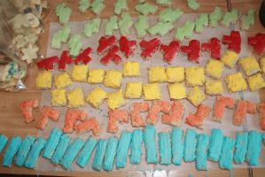 Tetris nut cookies by dark-columbia