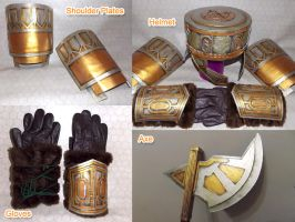 DWARF ARMOR PARTS - WIP by takren