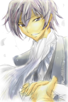 First attempt Lelouch by WolfieeD