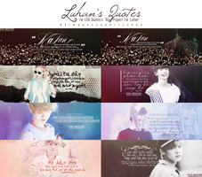 Luhan's Quotes - For EQ Project by ParkSaseum