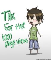 Thanks for 1000 page views by Bored-dood