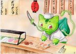 Poke-chef - bulbasaur by Dogmaniac