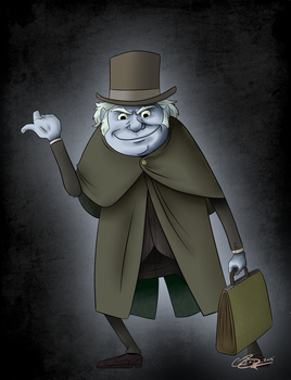 Hitchhiking Ghosts Phineas by CRBaird