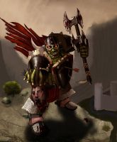 BlackHand the Destroyer by SicariiGS