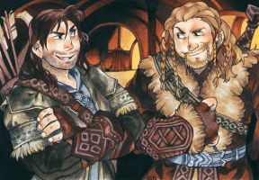Kili and Fili by Risto-licious