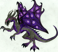 Darkness Dragon (for KunYKA) by WildWonderWorld