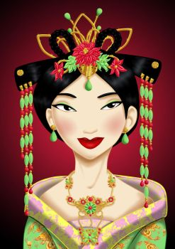 Royal Jewels: MULAN by MissMikopete