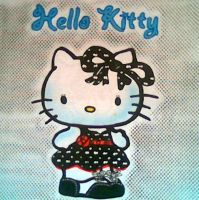 HELLO KITTY AIRBRUSHED by javiercr69