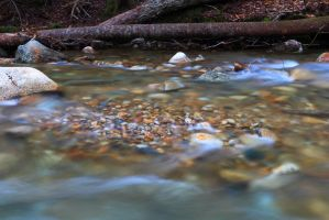 Pebbles in the Stream by Celem
