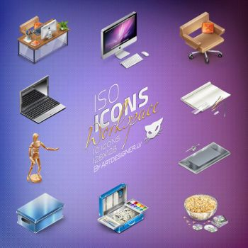 IsoIcons - Workspace by lazymau