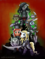 Dethklop In Armor by Scorchie-Critter
