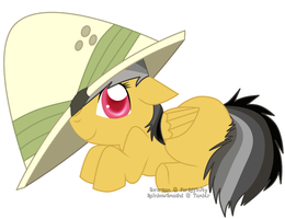 Filly Daring Do by Rainbow-Smashed