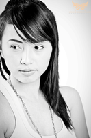 Model Shoot Balck and White I by lee-sutil