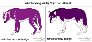 Which design is better? by Katy500