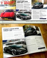 My Work Featured On Official Maserati Magazine by toyonda