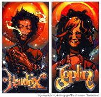 Jimmy n' Janis by telegrafixs