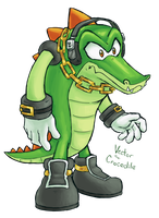 Vector the Crocodile by OyOy