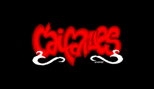 Caifanes - Graffiti Logo Rock Mex by elclon
