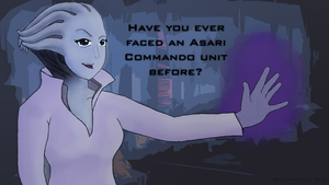 Mass Effect Asari Quote by HungryNoobivore