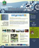 Malangkota Web Layout by champchoel