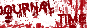 Bloody Journal header by forgetSanity