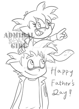 Happy Father's Day (2017) by Admiral-BG