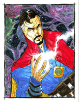 Doctor Strange by Hodges-Art